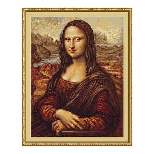 """Набор для вышивания крестом Luca-S """"Мона Лиза"""" (фото)"""