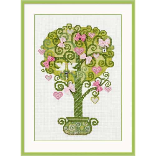 """Набор для вышивания крестом Риолис """"Дерево счастья"""""""