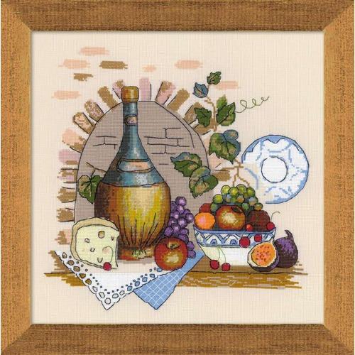 """Набор для вышивания крестом Риолис """"Натюрморт с сыром"""""""