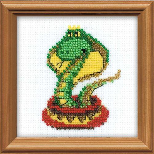"""Набор для вышивания бисером Риолис """"Королева змей"""""""