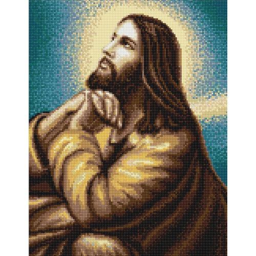 """Набор для вышивания крестом Luca-S """"Молитва Иисуса"""" (фото)"""