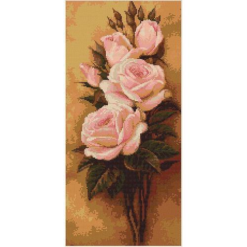 """Набор для вышивания крестом Luca-S """"Розы"""" (фото)"""