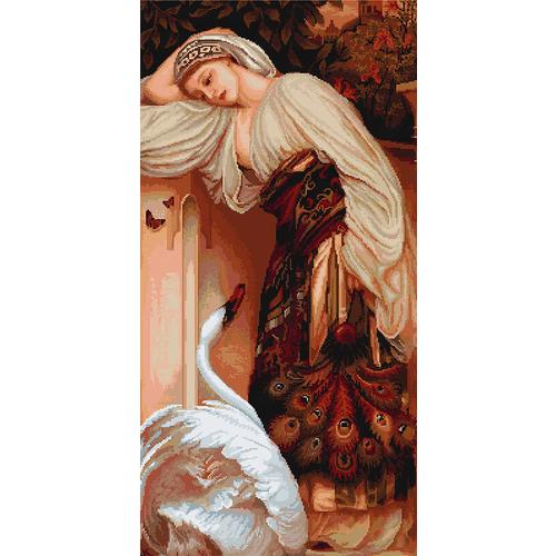 """Набор для вышивания крестом Luca-S """"Одалиска"""" (фото)"""