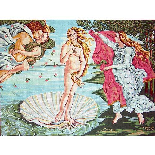 """Канва с нанесенным рисунком Gobelin-L """"Рождение Венеры"""""""