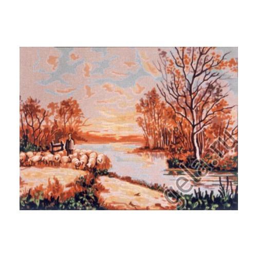 "Канва с нанесенным рисунком Gobelin-L ""Осень"""