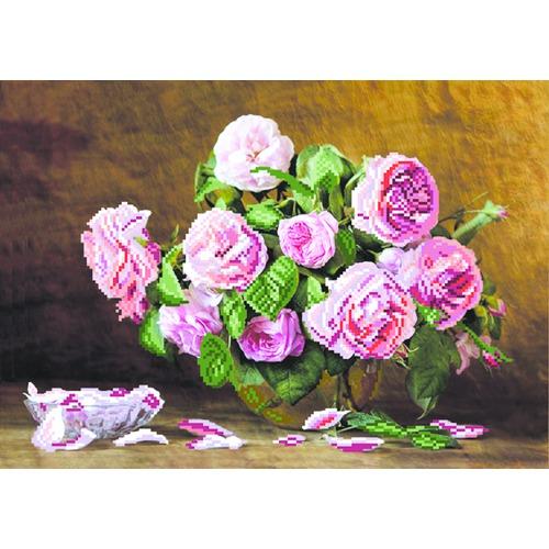 """Набор для вышивания бисером Матрёнин посад """"Розовый аромат"""""""