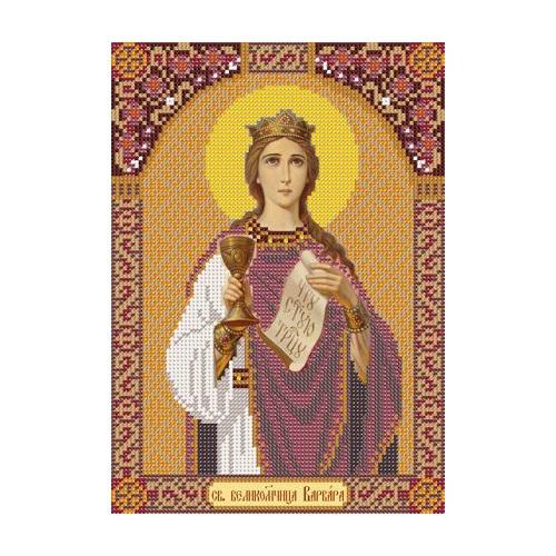 """Набор для вышивания бисером Nova sloboda """"Святая Великомученица Варвара"""""""