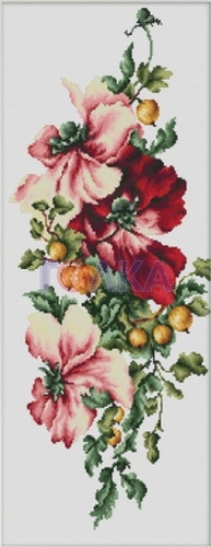 """Набор для вышивания крестом Luca-S """"Цветы с крыжовником"""""""