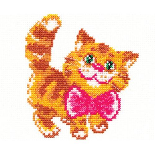 """Набор для вышивания крестом Чудесная игла """"Котик"""""""