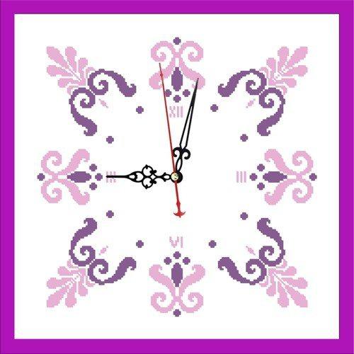 """Набор для вышивания бисером Zengana """"Часы. Весна"""" (фото)"""