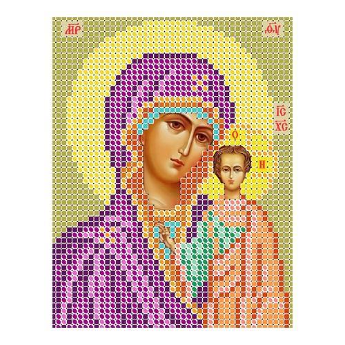 """Набор для вышивания бисером Вертоградъ """"Икона """"Божией Матери Казанская"""""""""""