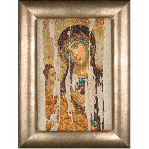 """Набор для вышивания крестом Thea Gouverneur """"Икона Божия Матерь (Богородица Одигитрия)"""" (фото)"""