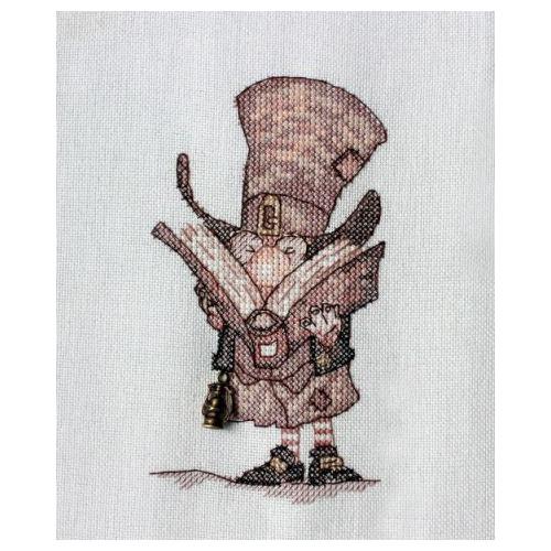 """Набор для вышивания крестом NeoCraft """"Джентельмен с книгой"""""""