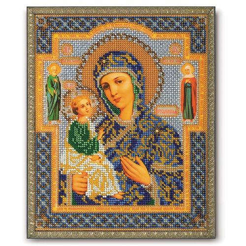 """Набор для вышивания бисером Радуга бисера (Кроше) """"Богородица Иерусалимская"""""""
