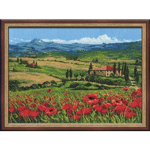 """Набор для вышивания крестом Риолис """"Тоскана"""" (фото)"""