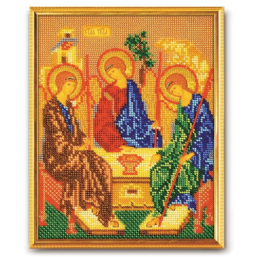 """Набор для вышивания бисером Радуга бисера (Кроше) """"Святая Троица"""""""