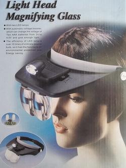 Аксессуары МАГ Лупа с подсветкой и креплением на голову (фото)