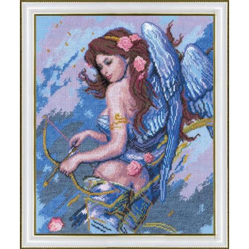 """Набор для вышивания крестом Чаривна Мить """"Ангел с луком"""""""