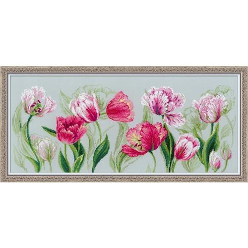 """Набор для вышивания крестом Риолис """"Весенние тюльпаны"""" (фото)"""
