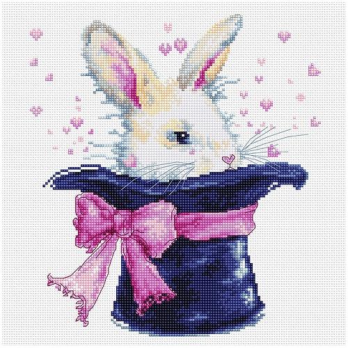 """Набор для вышивания крестом Luca-S """"Кролик"""" (фото)"""