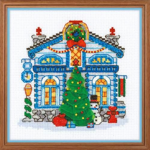 """Набор для вышивания крестом Риолис """"Ледяной домик"""" (фото)"""