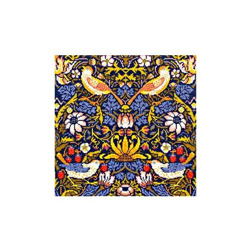 """Набор для вышивания крестом Bothy Threads """"Strawberry Thief"""" William Morris (Клубника)"""