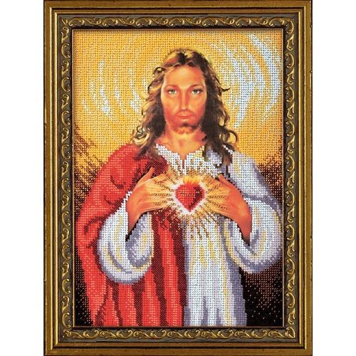 """Набор для вышивания бисером Радуга бисера (Кроше) """"Иисус Христос"""""""