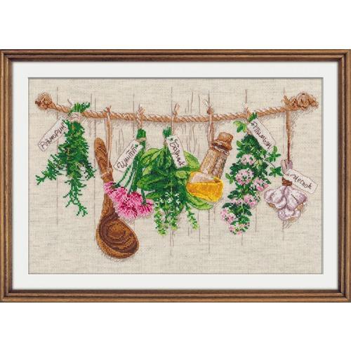 """Набор для вышивания крестом Овен """"Душистые травы"""""""