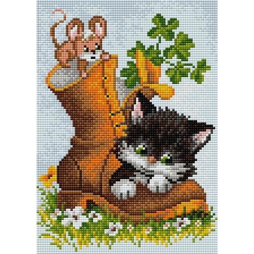 Набор для выкладывания мозаики Вышиваем бисером