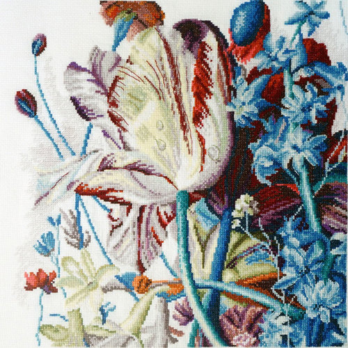 """Набор для вышивания крестом Марья искусница """"Дыхание тюльпана"""" (фото)"""