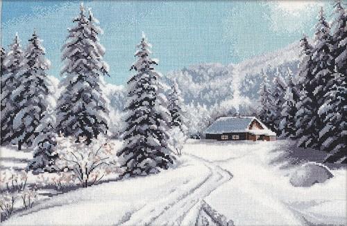 """Набор для вышивания крестом Овен """"Зимний день"""""""