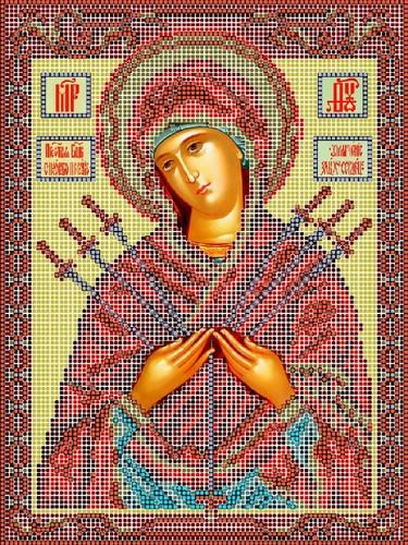 """Набор для вышивания бисером Матрёнин посад """"Богородица умягчение злых сердец"""""""