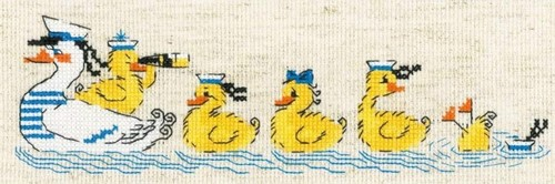 """Набор для вышивания крестом Риолис """"По морям, по волнам"""""""