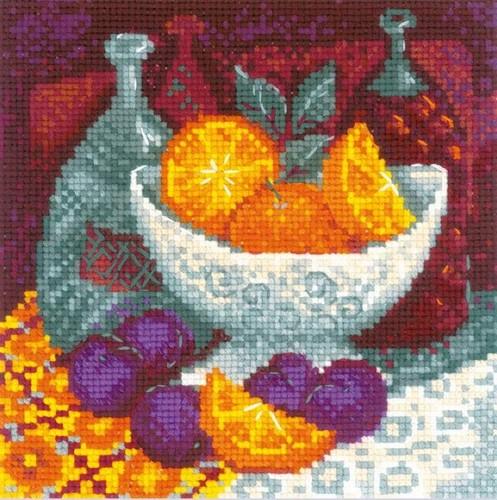 """Набор для вышивания крестом Риолис """"Апельсины"""""""