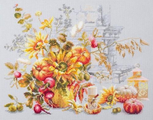 """Набор для вышивания крестом Чудесная игла """"Осенняя импровизация"""""""