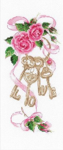 """Набор для вышивания крестом Риолис """"Ключи к счастью"""""""