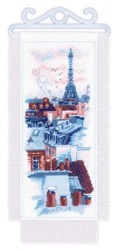"""Набор для вышивания крестом Риолис """"Крыши Парижа"""""""