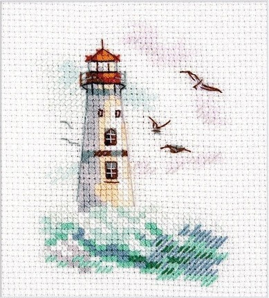 """Набор для вышивания крестом Алиса """"Море волнуется. Белый моряк"""""""