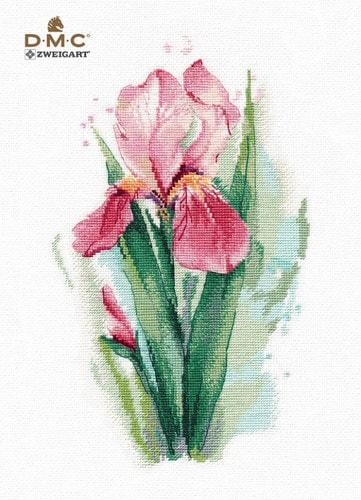 """Набор для вышивания крестом Овен """"Розовый ирис"""""""