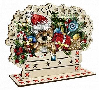 """Набор для вышивания крестом М.П. Студия """"Скоро Новый год"""""""