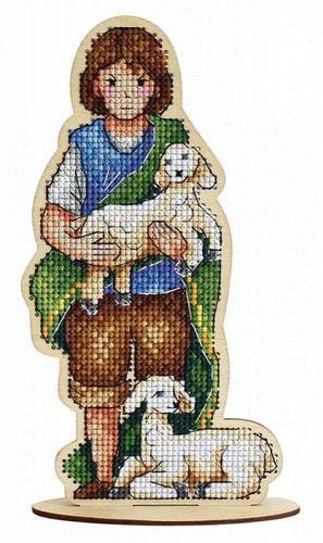 """Набор для вышивания крестом М.П. Студия """"Пастушок"""""""