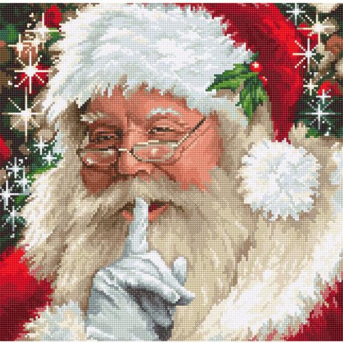 """Набор для вышивания крестом Luca-S """"Santa"""""""