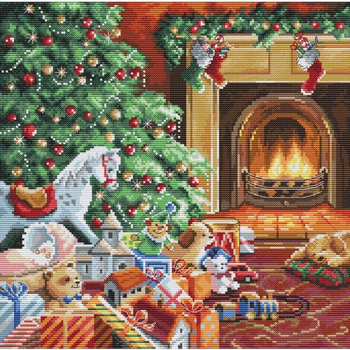 """Набор для вышивания крестом Letistitch """"Cozy Christmas"""""""