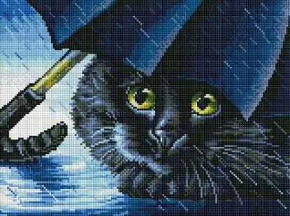 """Набор для выкладывания мозаики Белоснежка """"Синий зонт"""""""