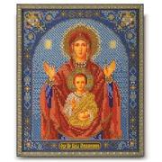 """Набор для вышивания бисером Радуга бисера (Кроше) """"Богородица Знамение"""""""