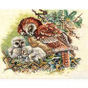 """Набор для вышивания крестом Eva Rosenstand """"Гнездо совы"""""""