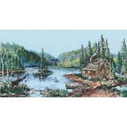 """Набор для вышивания крестом Candamar Designs """"Лесное озеро"""""""