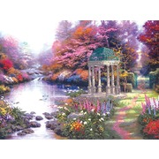 """Набор для вышивания крестом Candamar Designs """"Беседка в саду"""""""