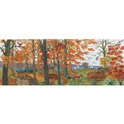 """Набор для вышивания крестом Eva Rosenstand """"Осень в лесу"""""""