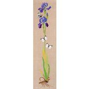 """Набор для вышивания крестом Eva Rosenstand """"Ирис и бабочки"""""""